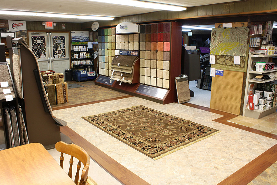 Martin's Floor Coverings Showroom